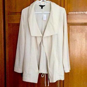 Tie-waist Drape Jacket by Banana Republic Factory!